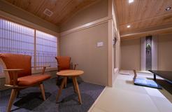 檜の源泉室内露天風呂付き客室