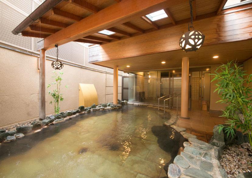 露天風呂・大浴場