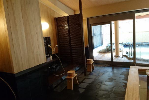 【画像あり・ヒノキに張替え】女性大浴場のリニューアル工事が完了しました!!