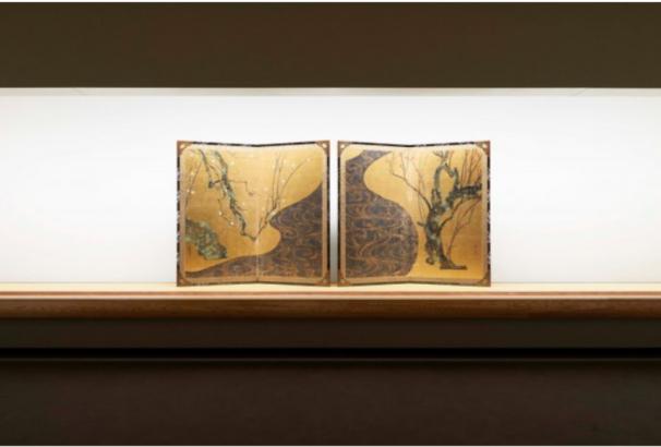 MOA美術館の国宝【尾形光琳 紅白梅図屏風】、2018年1月26日から公開です。