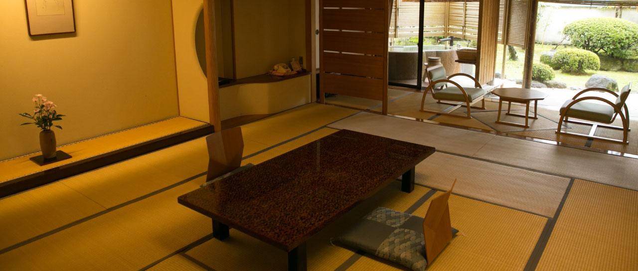 温泉露天風呂付き客室