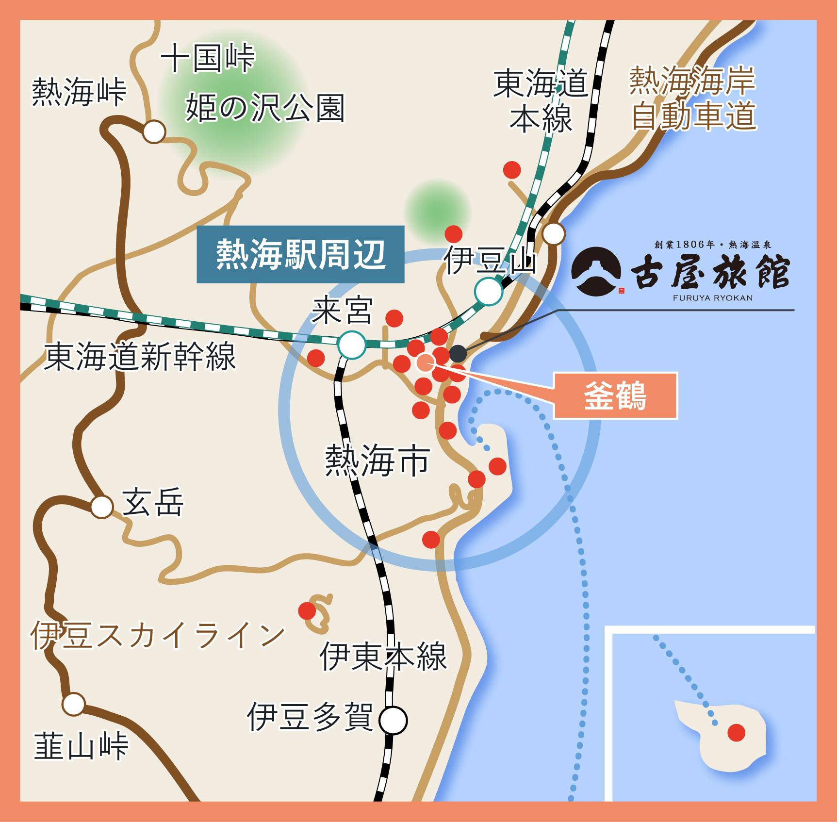 熱海観光グルメマップ