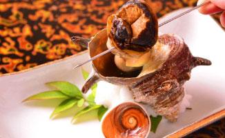 熱海網代産 サザエの壺焼き