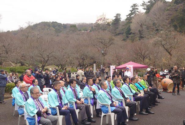 【2020年・日本一の早咲き】なんと、熱海梅園梅まつりと桜まつりが今年は同時開催スタート!