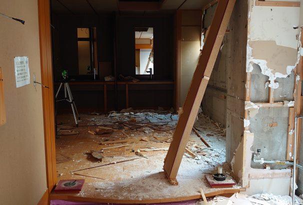 工期一か月以上!古屋旅館【女性大浴場リニューアル工事】開始。2020年5月下旬に完成予定。