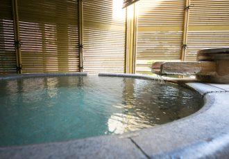 温泉内風呂付き客室